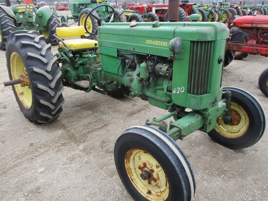 94596-JD 420 TRACTOR