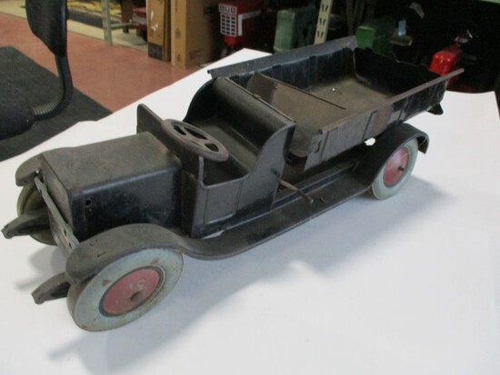 4186-ORIGINAL TOY TRUCK, 1/16TH SCALE