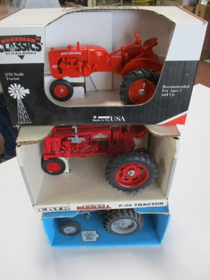 4626-FERGUSTON T0-20, FARMALL F-20, AC CA, ALL NIB, 1/16TH SCALE
