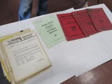 3065- ASSORTMENT OF OLIVER, CLETRAC INSTURCTION MANUALS, SERVICE BULLETINS