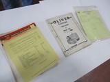 3067-(3) OLIVER PARTS BOOKS
