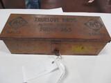 4097-AC DEALER TRACTOR TOOL BOX, ORIGINAL EMBLEM