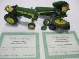 4287-JD 330 (1993), JD 530 (1991) BROKEN W/ PIECES, LEBANON VALLEY SHOW TRACTORS, 1/16TH SCALE