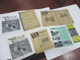 5543-(9) ASSORTED JD TRACTOR CATALOGS