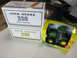 5566-(2) JD 330 2 CYLDINER EXPO (2005), JD TRACTOR, 1/16 SCALE