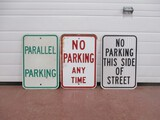 2931- (3) PARKING SIGNS