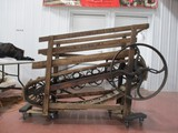 4571- GRANT & DEWATERS GOAT OR SHEEP TREADMILL PT'D 1871