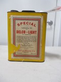 4579- DELCO LUBRICATING OIL CAN 1 GALLON