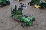 2785- JD MOWER FOR PARTS, NOT RUNNING