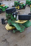 2786- JD 110 LAWN MOWER FOR PARTS, NOT RUNNING