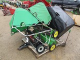 4255- JD AND AGRI-FAB LAWN SWEEPERS