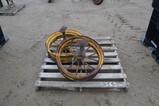 4363- 2 STEEL WHEEL RIMS 27