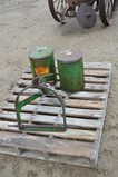 4917- JD 3PT ATTACHMENT AND 2 JD SEED CORN PLANTER BOXES