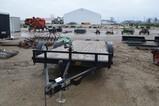5514- H & H SPEED LOADER 2001 3500 LB AXES HYDRAULIC TILT FLAT BED TRAILER, W/ TITLE, 20' LONG