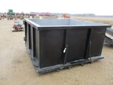5691- 7' SQUARE ROLL OFF DUMPSTER