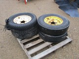5723- (4) IMPLEMENT TIRES