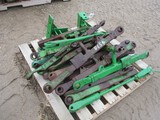 4598-LARGE PALLET OF JD 3PT ARMS