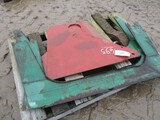 4695-PALLET OF OLIVER SHEET METAL