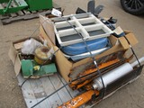4859-PALLET OF MISC TRACTOR PARTS