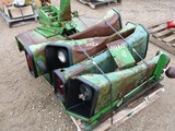 4860-PALLET OF JD FENDERS, PLAT FORMS, ROUGH