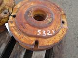 5321-(2) JD WHEEL WEIGHTS, #M2292T, 2X THE MONEY