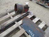 5326-PALLET OF PLOW AND TRACTOR PARTS