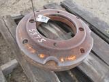 5375-(2) OLIVER WHEEL WEIGHTS, 2X THE MONEY