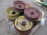 5442-(10) FRONT TRACTOR RIMS