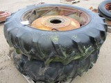 5734-(2)13.6-38 POWER SET TIRES AND RIMS