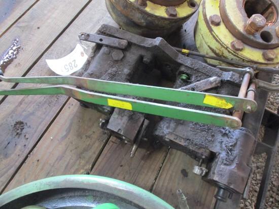 2851-JD NEW GEN. TRIPLE HYDRAULIC REMOTE KIT W/ LEVERS
