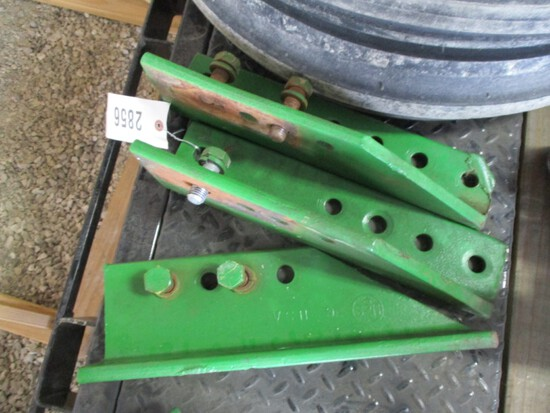 2856-(3) JD HIGH CROP DRAW BAR BRACKETS