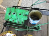 3434-JD 2 CYLINDER DUAL HYDRAULIC BANK, W/ LEVERS AND BOLTS