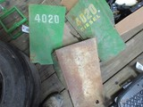 4078-(4)JD 4020 REAR ENGINE SIDE SHIELDS