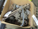 4092-BOX OF MISC TRACTOR CARBS, PARTS