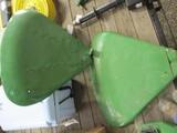 4490-(2) JD CLAM SHELL FENDERS, WATERLOO