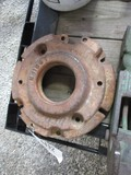 4492-(1) DUBUQUE FRONT WHEEL WEIGHT