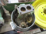 4498-JD DUPLEX CARB AND BUCKET OF CARB PARTS