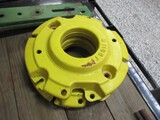 4539-(2) DUBUQUE FRONT WHEEL WEIGHTS, 2X THE MONEY
