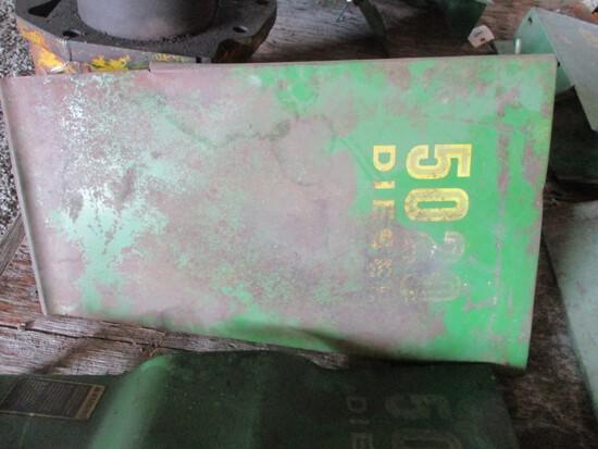 99178- JOHN DEERE 5020 REAR ENGINE SIDE SHIELDS (2)