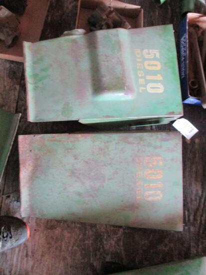 99179- JOHN DEERE 5010 REAR ENGINE SIDE SHIELDS (2)