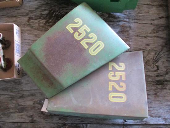 99193- JOHN DEERE 2520 REAR ENGINE SIDE SHIELDS (2)