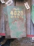 99207- JOHN DEERE 4020 & 3020 CONSOLE, REAR ENGINE SIDE SHEILDS