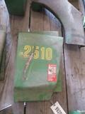 99208- JOHN DEERE 2510 REAR ENGINE SIDE SHIELDS (2)