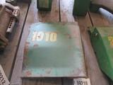 99210- JOHN DEERE 1010 REAR ENGINE SIDE SHIELDS (2)
