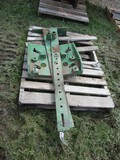 99348 -JOHN DEERE DOUBLE STACK FRONT WEIGHT PAD w/ RAILS
