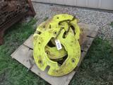 99350- JOHN DEERE WHEEL WEIGHTS x 6