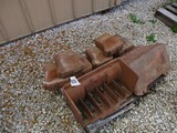99359- FORD FRONT WEIGHT BOX w/ LID & 6 WEIGHTS, RARE **(all one money)
