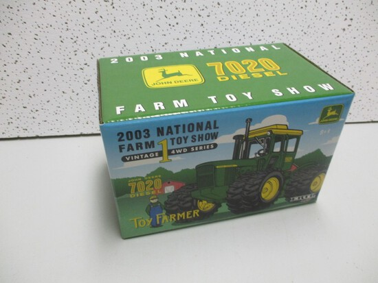 2003 TOY FARMER SHOW EDITION JD 7020