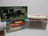 IH T340, MM TRUCK, JD 3140 (1 LOT)