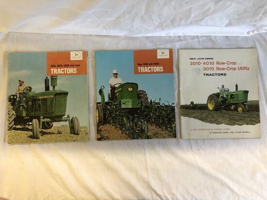 (3) JD 1960's Brochures
